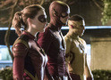The Flash, Kid Flash e Jesse Quick juntos nas fotos do episódio 3x14