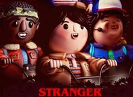 Como seria se as personagens de Stranger Things fossem brinquedos?
